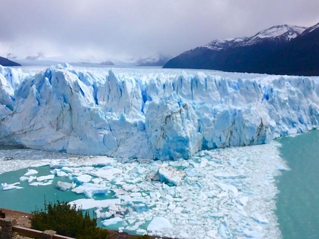 """Der Perito-Moreno-Gletscher hat """"gekalbt"""""""
