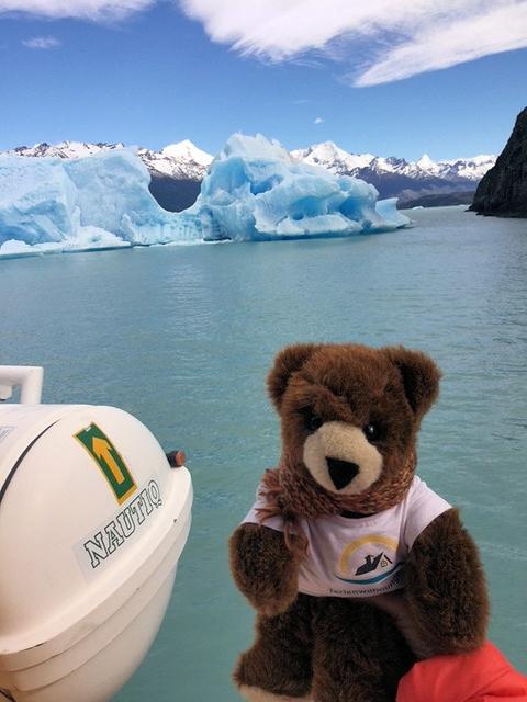 Urlaubär im Eis von Patagonien - Auf dem Lago Argentino