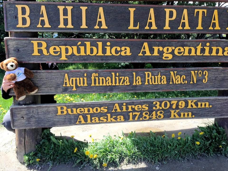 Der Urlaubär am Ende der Panamericana - Urlaubär am Ende der Welt