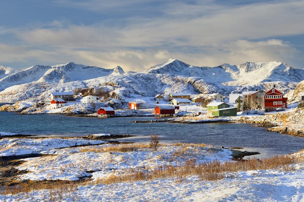 Ferienhäuser in Nordnorwegen im Winter
