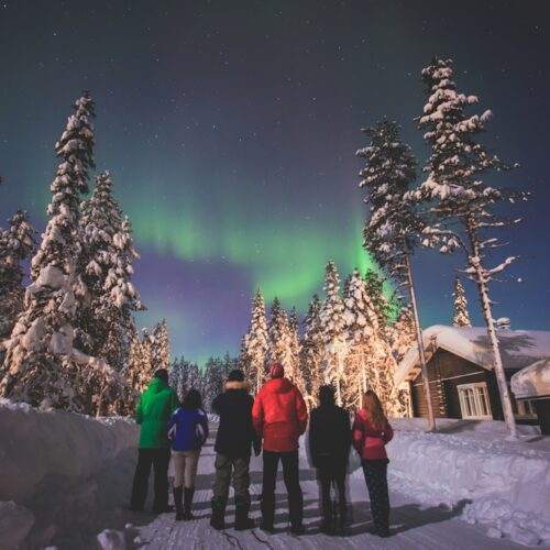 Nordlichter über Nord-Norwegen beobachten
