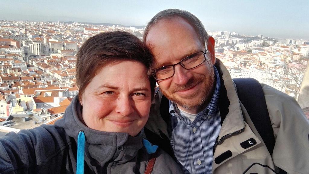 Levke und Holger über Lissabon