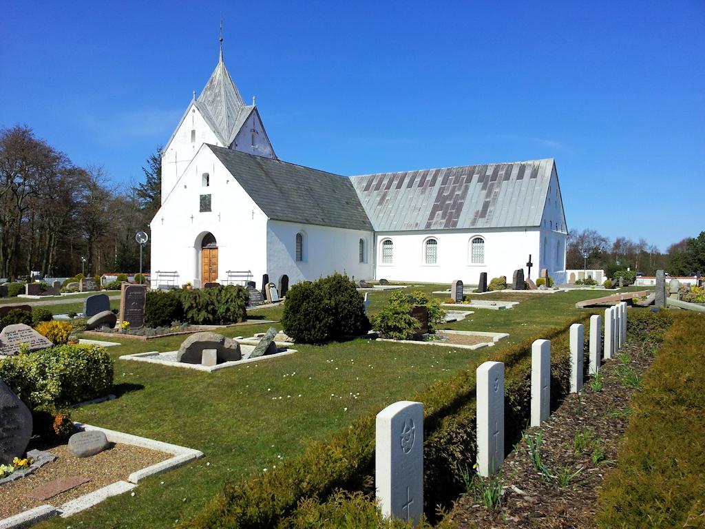 St.-Clemens-Kirche auf der Insel Rømø