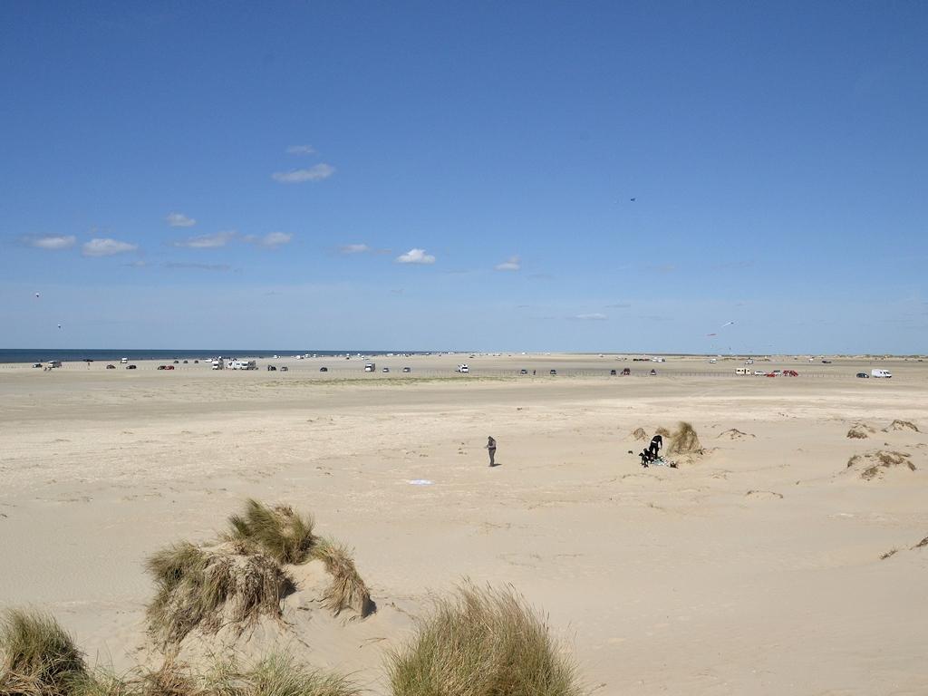 Der breite, befahrbare Strand von Rømø