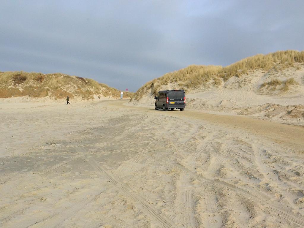 Die Zufahrt zur Nordsee in Vejers Strand