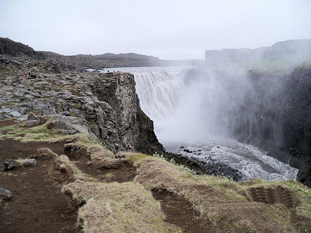 Der Wasserfall Dettifoss