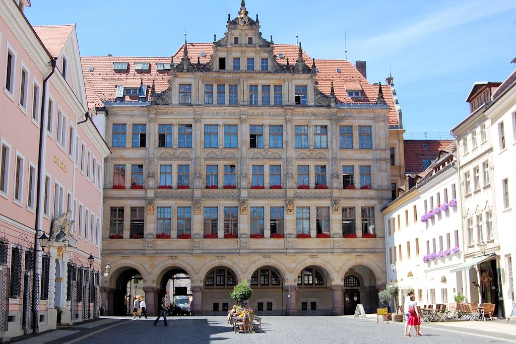 Das Görlitzer Rathaus am Untermarkt