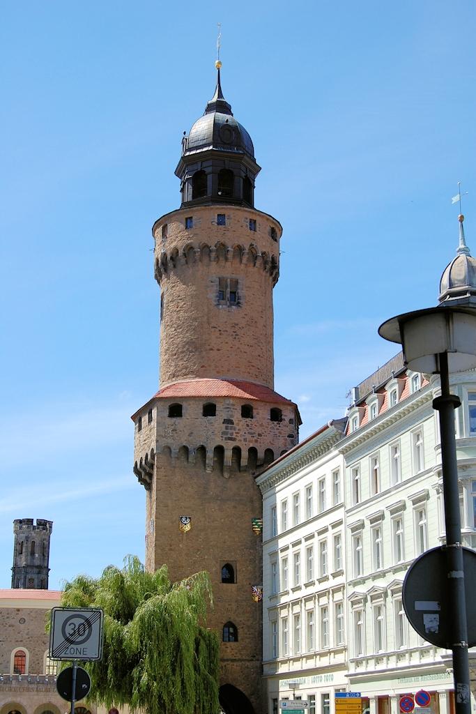 Der Reichenbacher Turm am Obermarkt