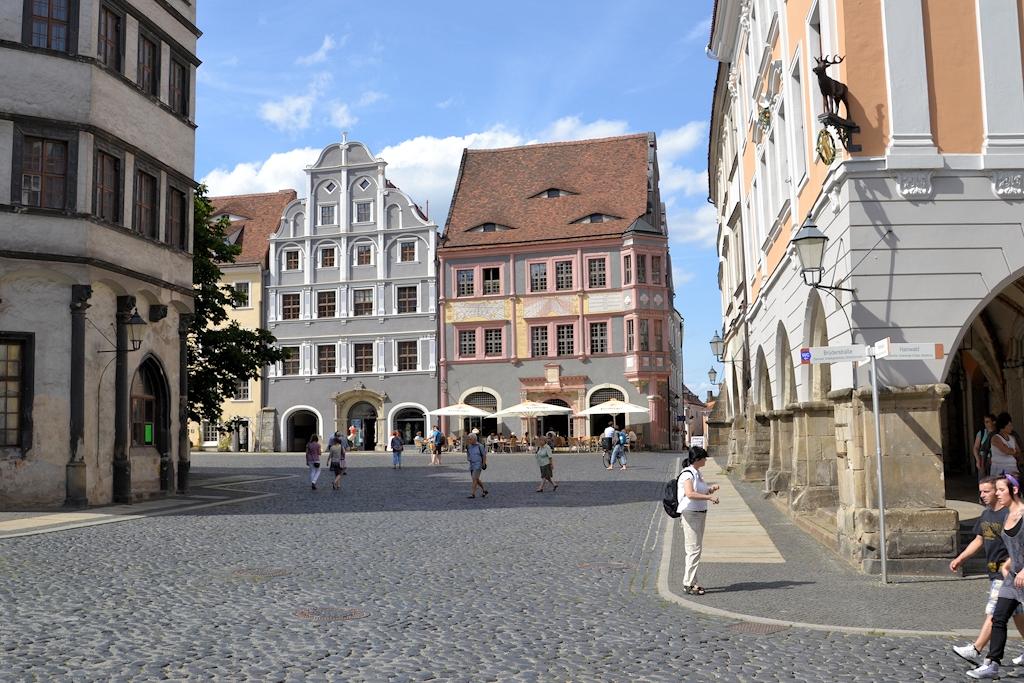 Blick auf den Untermarkt in Görlitz