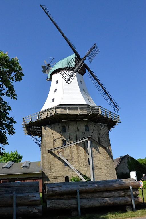 Windmühlen an der Flensburger Förde - Windmühle Kappeln