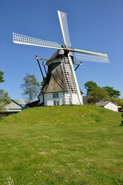Windmühlen an der Flensburger Förde - Windmühle Munkbrarup