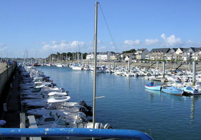 Hafen von Étel in der Bretagne