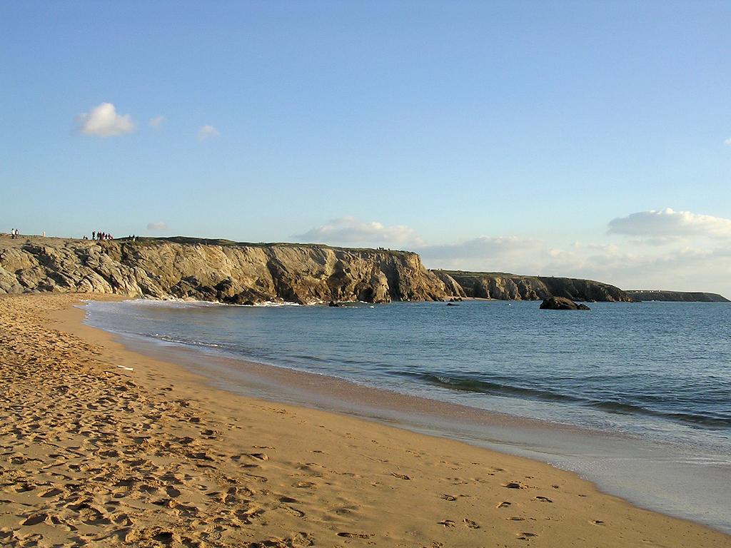 Strand an der Côte Sauvage