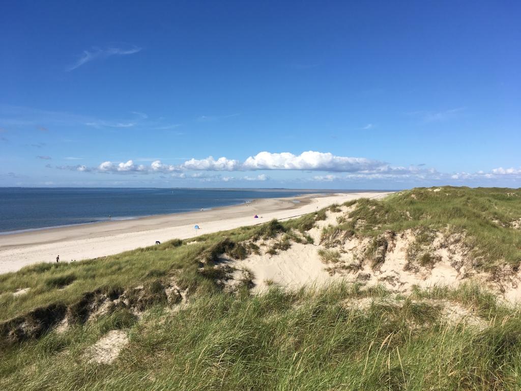 Dünen und Strand auf Amrum