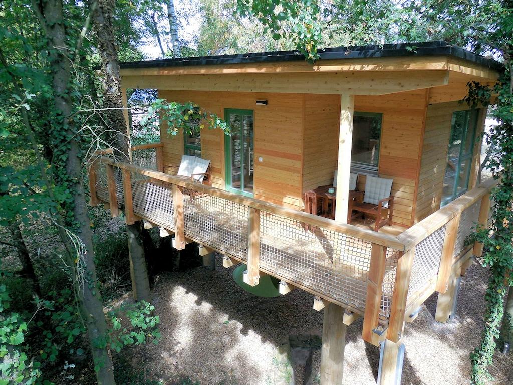 Ungewöhnliche Schlafplätze - Baumhaus