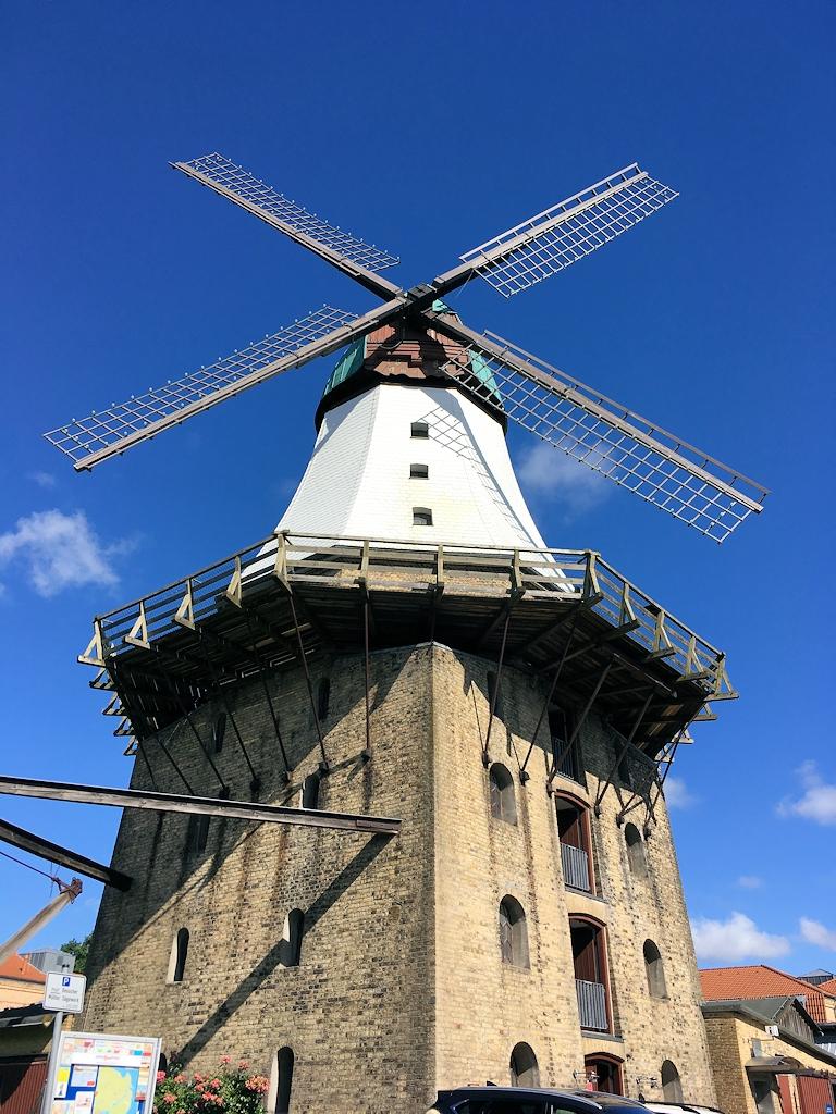 Die Windmühle Amanda in Kappeln