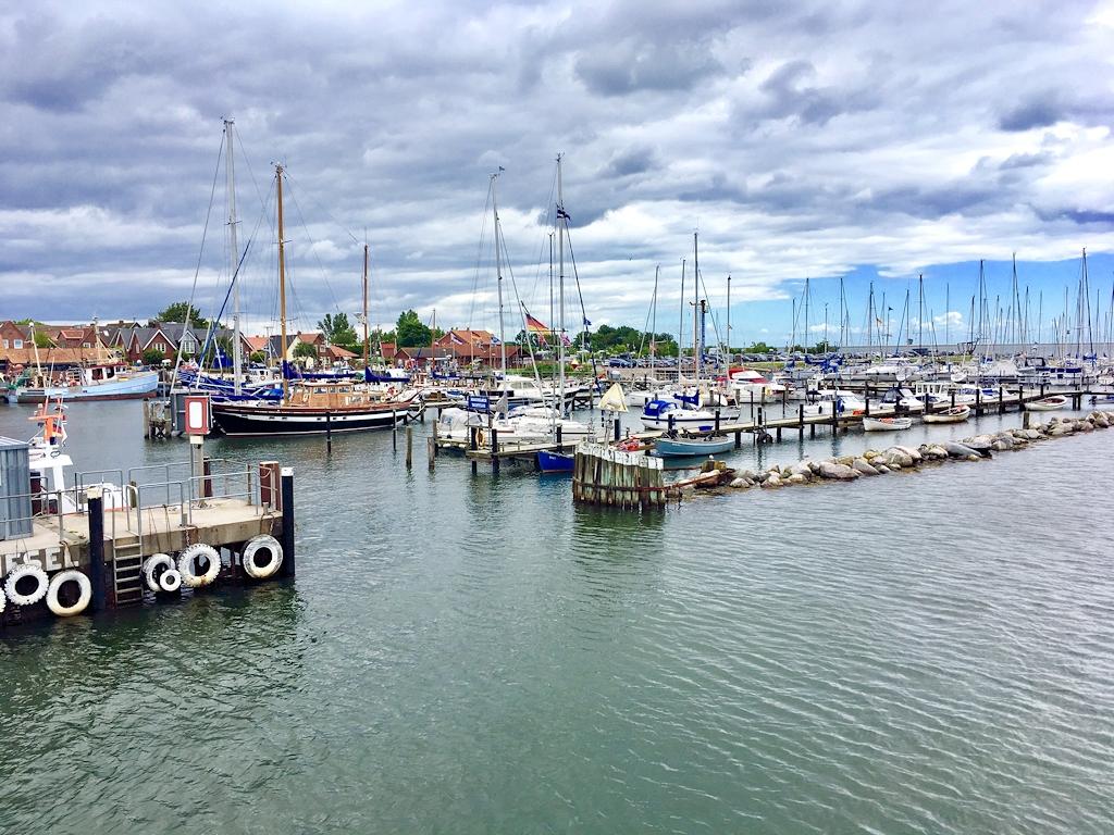 Der Hafen von Maasholm