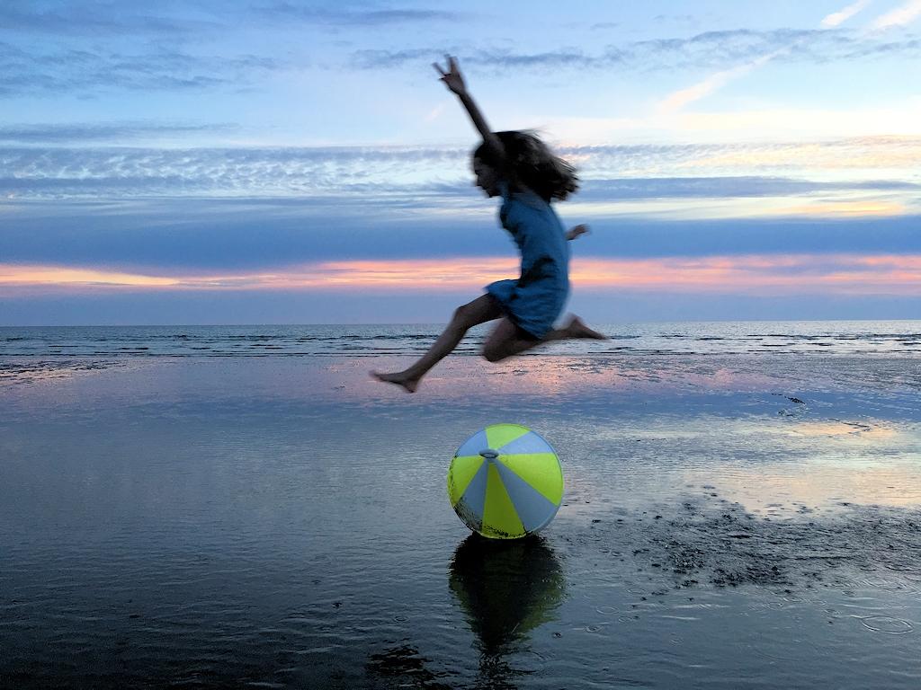 Spaß am Strand von Sankt Peter-Ording