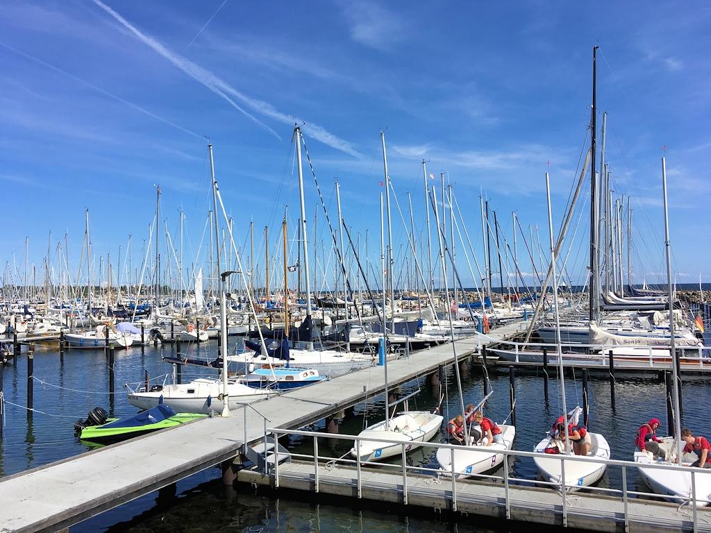 Hafen in Kiel-Schilksee