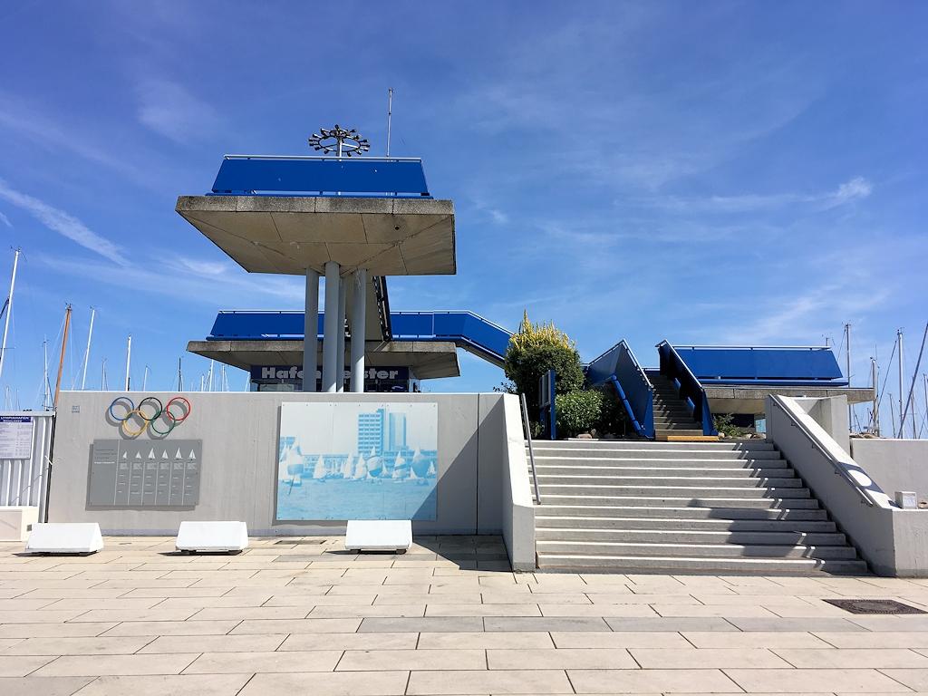 Olympiazentrum in Kiel-Schilksee