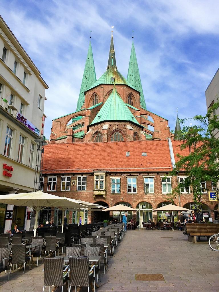 Innenstadt von Lübeck