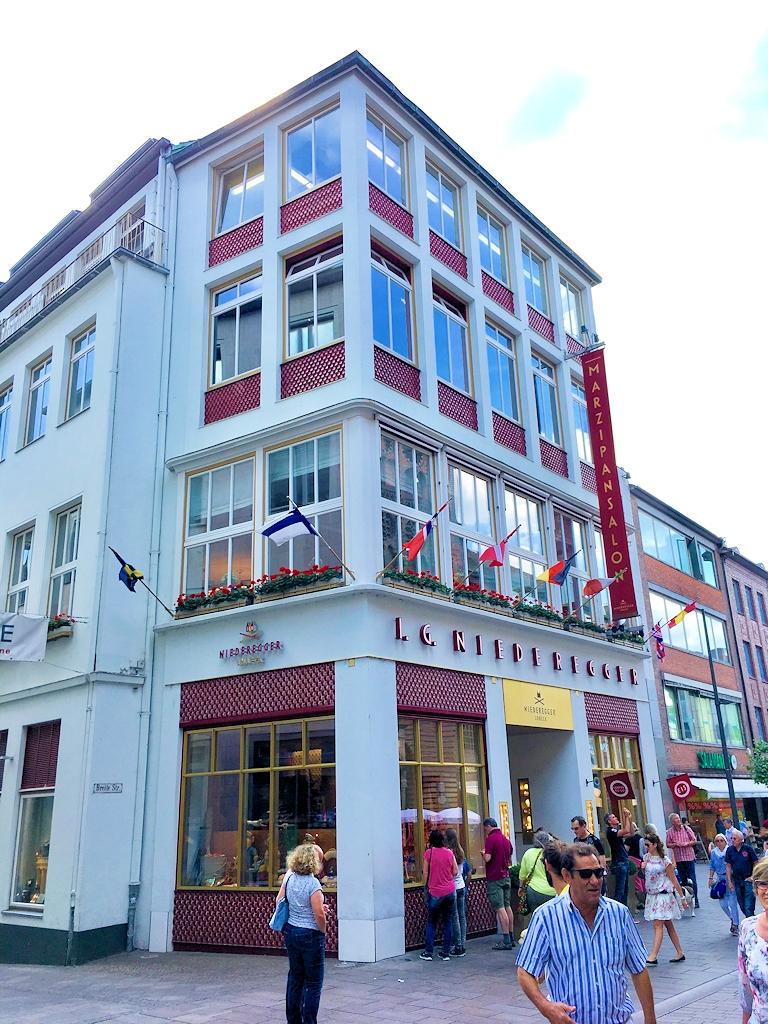 Niederegger Marzipan in Lübeck