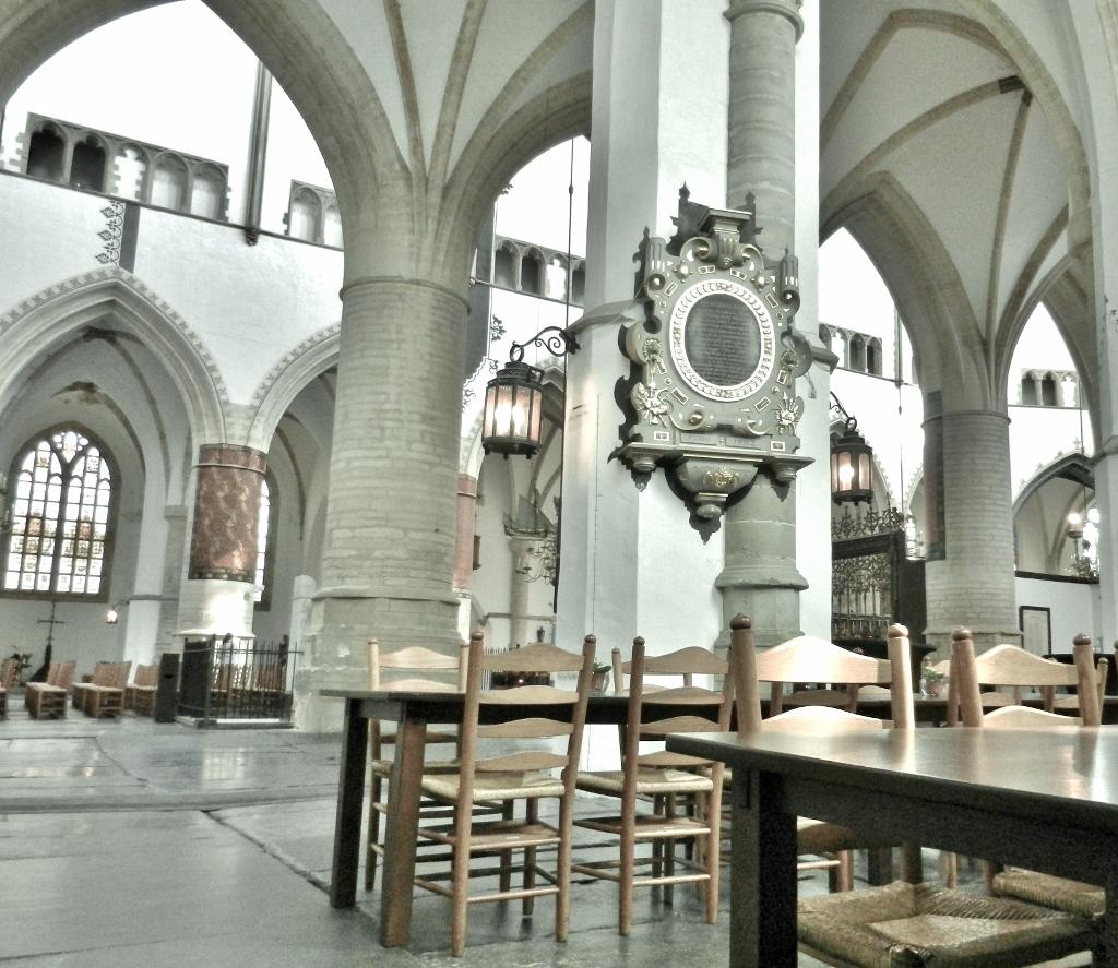 In der St.-Bavo-Kathedrale in Haarlem