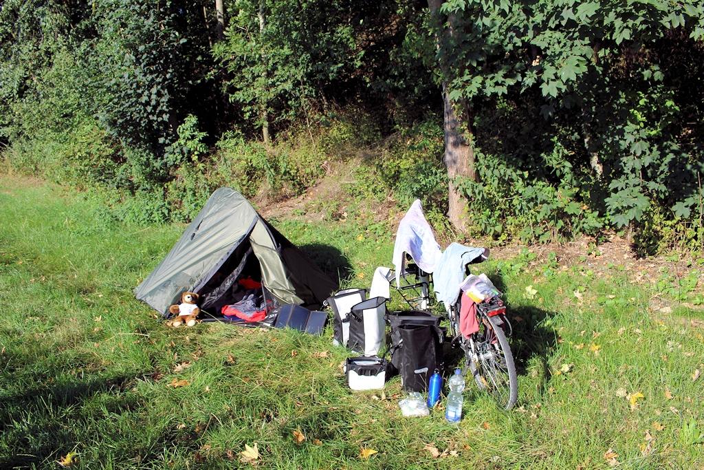Wild campen bei Bad Wörishofen