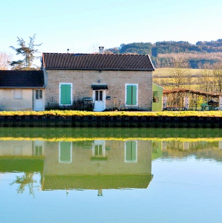 Am Canal de Bourgogne bei Flavigny