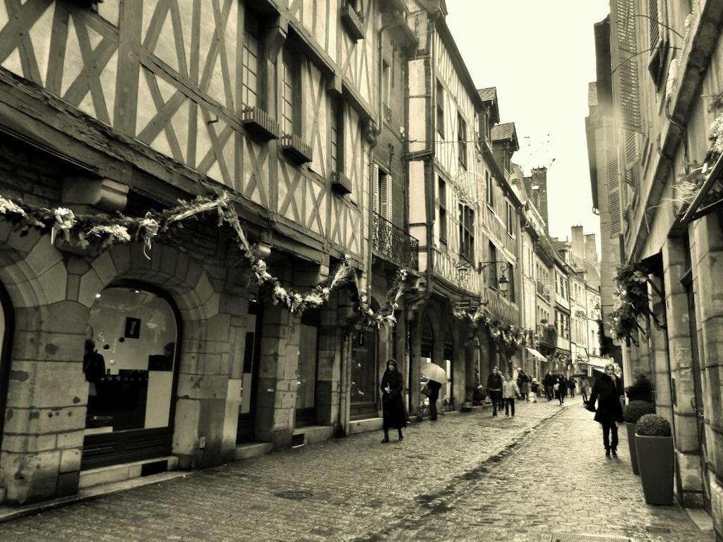 Weihnachtszeit im Burgund - In der Altstadt von Dijon
