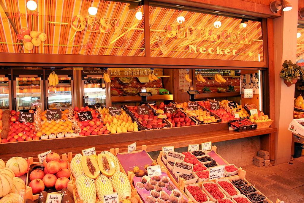 Der Stadtmarkt in Augsburg