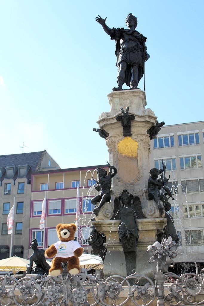 In Augsburg angekommen