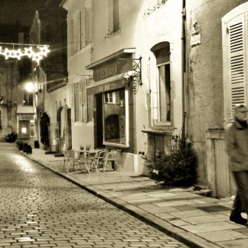 Abends in Noyers-sur-Serein
