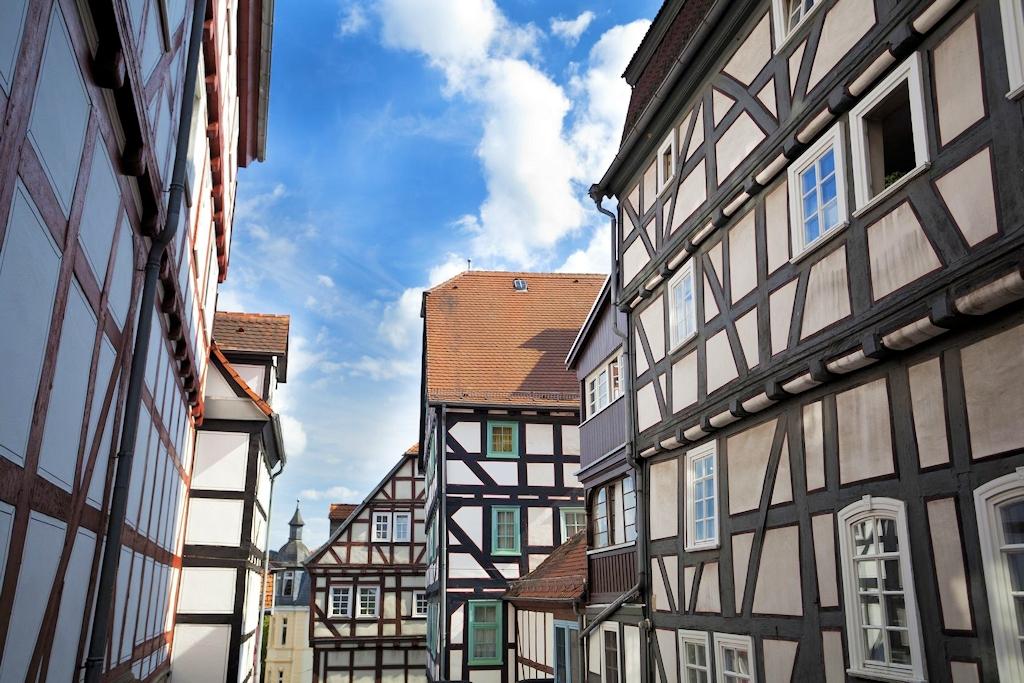 Deutsche Märchenstraße – Fachwerkhäuser in Marburg