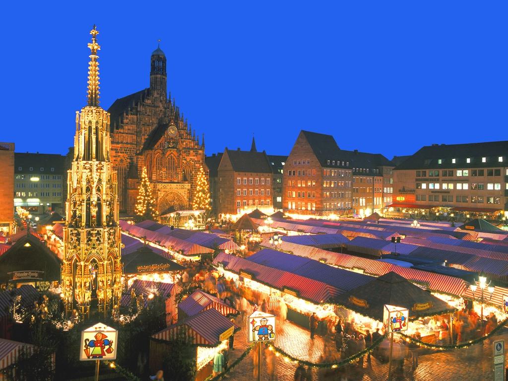 Der Christkindlesmarkt in Nürnberg