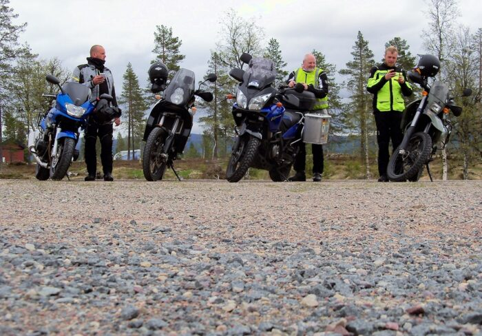 Mit dem Motorrad durch Südskandinavien