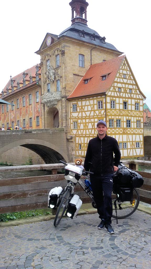 Chris und der Urlaubär in Bamberg