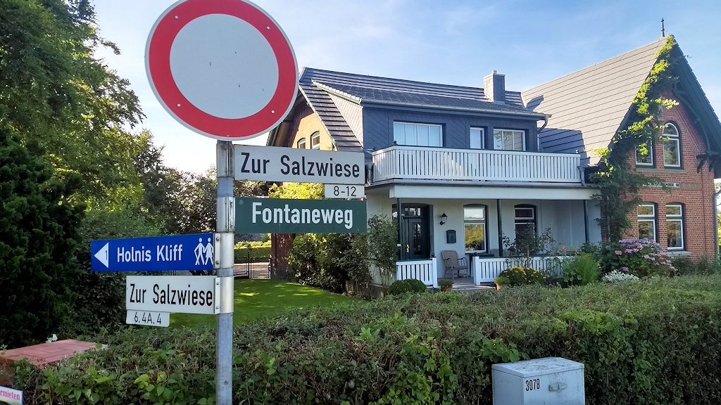 Theodor-Fontane-Wanderweg in Holnis