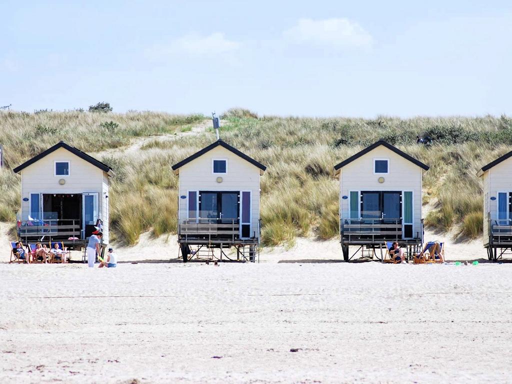 Ungewöhnliche Schlafplätze - Strandhütte(n)