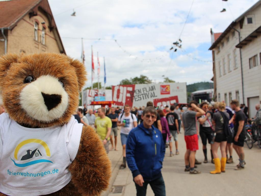 Auf dem Open Flair Musikfestival in Eschwege
