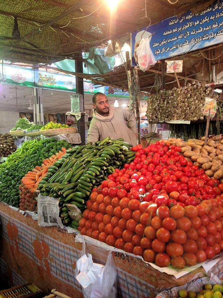 Auf dem Markt in Hurghada