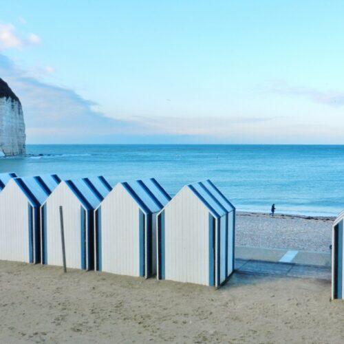 Strandhäuschen in Yport
