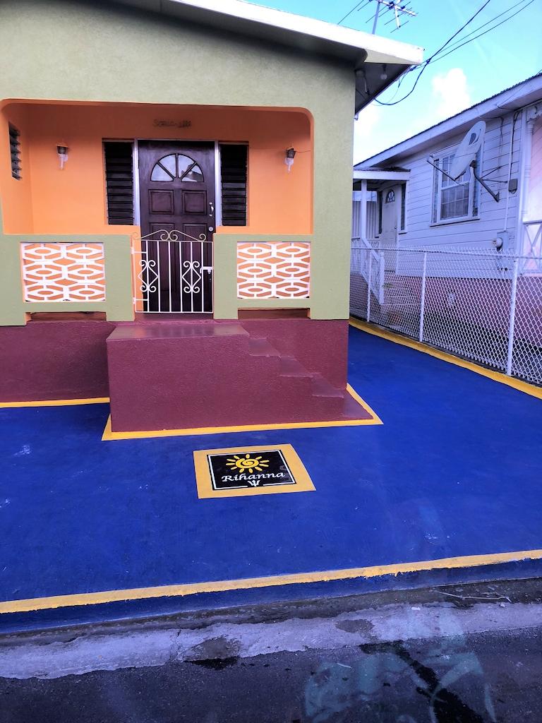 Das Geburtshaus der Pop-Sängerin Rihanna auf der Insel Barbados