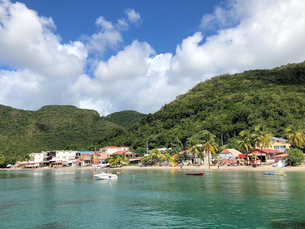 Typisacher Karibikanblick auf Martinique