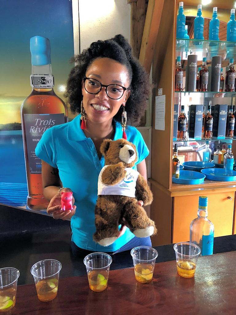 Rumverkostung auf der Karibikinsel Martinique