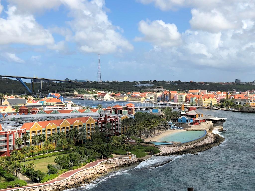 Willemstad auf der Insel Curaçao