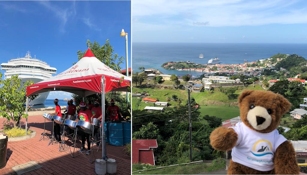 Ankunft auf der Karibikinsel Grenada