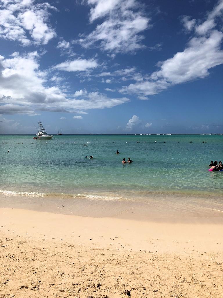 Am Strand von St. Lucia