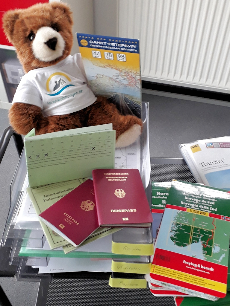 Einreise nach Russland - Der Urlaubär hilft bei den Vorbereitungen zur Ostseeumrundung