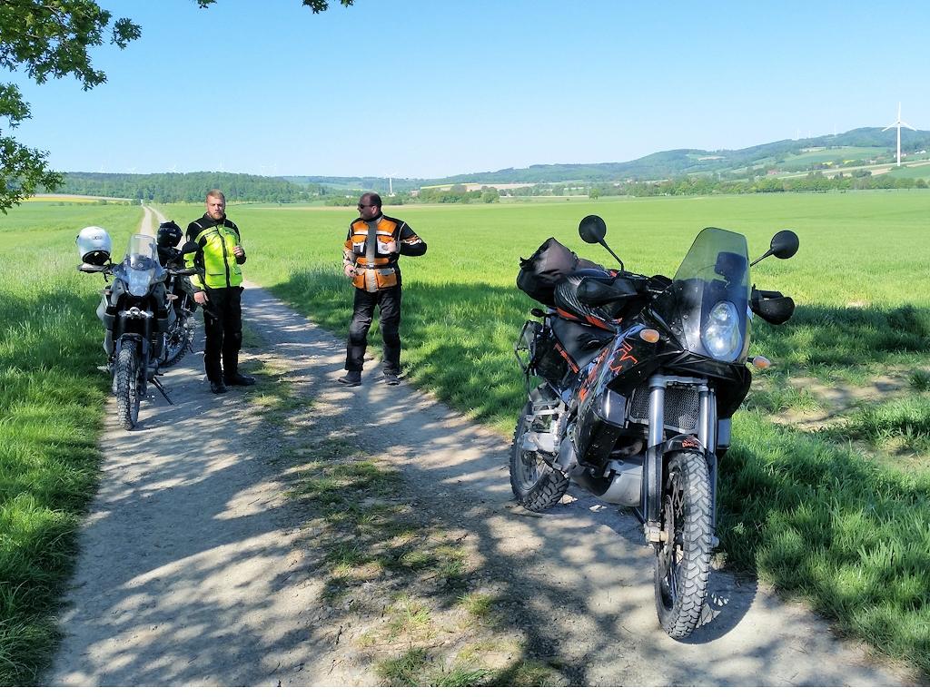 Kleine Pause im Weserbergland